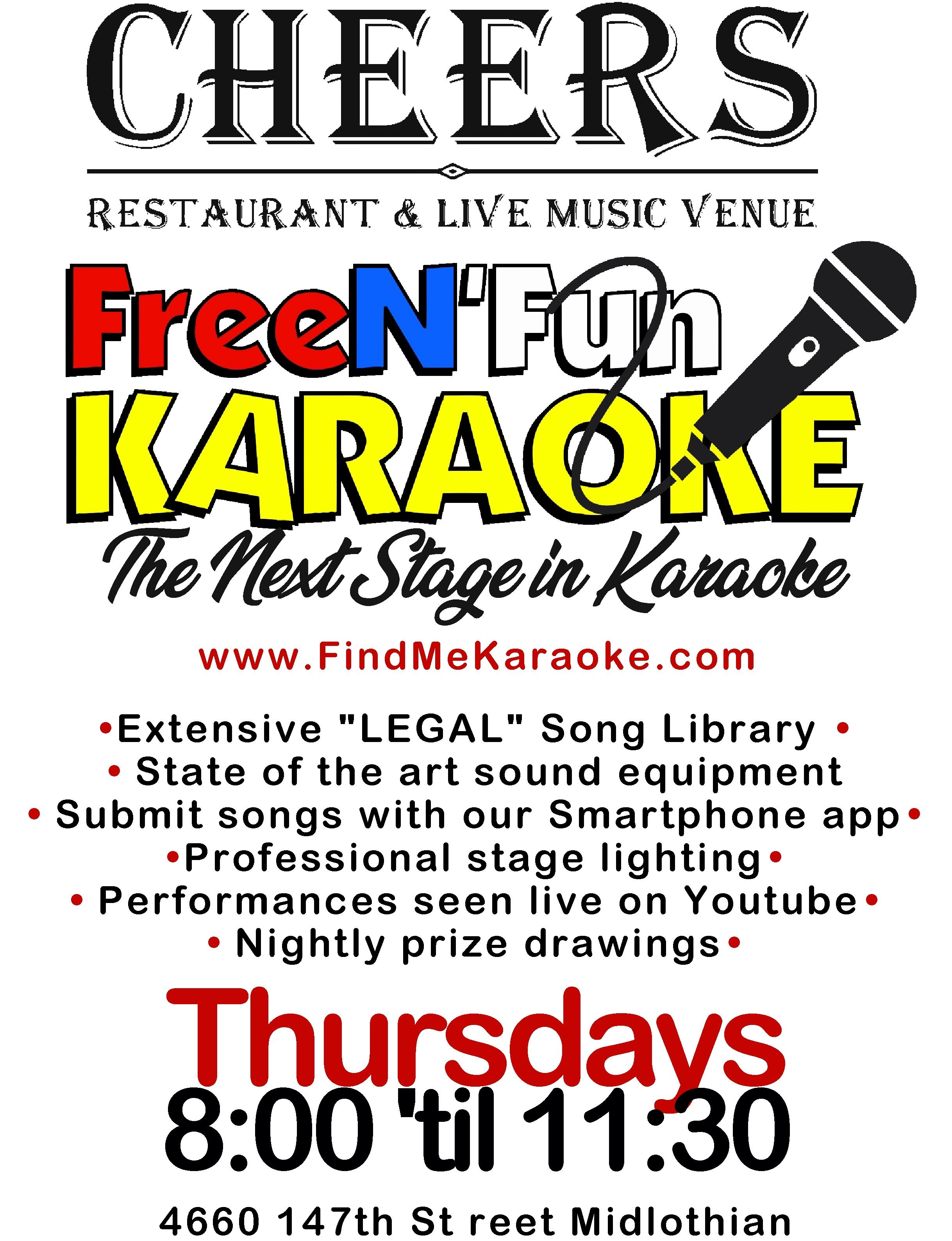 Cheers FreeN Fun Karaoke